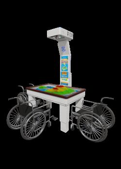 iSandBOX 'Childrens Hope' - sandkasse med AR-teknologi (Augmented Reality Technology)