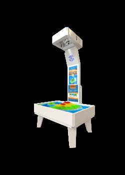 iSandBOX mini - sandkasse med AR-teknologi (Augmented Reality Technology)